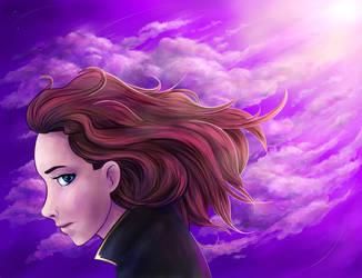 Violet Dreams by Tamaryna