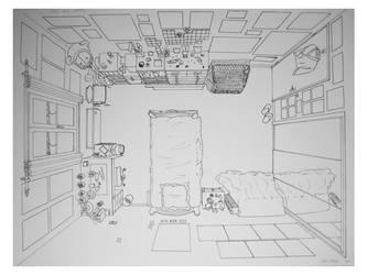 Bedroom by Hell-o-Mary