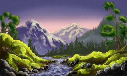Landscape by SaliferousStudios