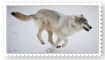 Wolf Stamp by VexFox
