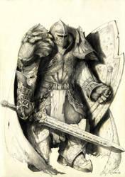 Battle Golem by Tanathiel