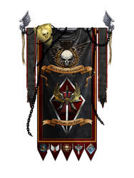 Black Widow Company banner by Tanathiel