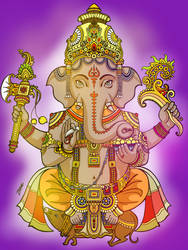 Ganesh by daelirium