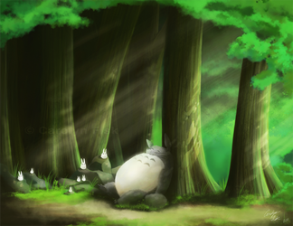 Totoro by Bone-Fish14