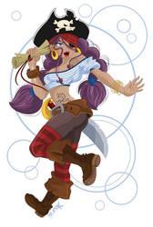 Pirate by Miss-Kourai