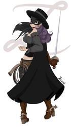 Zorro by Miss-Kourai