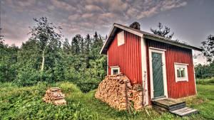 The Northern Carelian Sauna by unbearablegrey