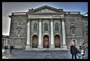 Ghosts in Dublin by unbearablegrey