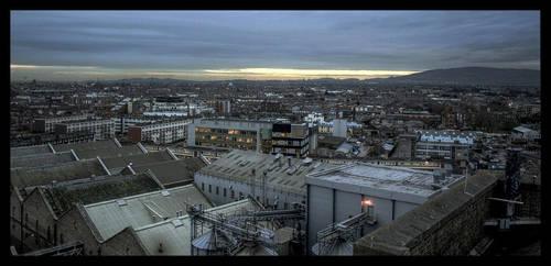 Dublin in November HDR by unbearablegrey