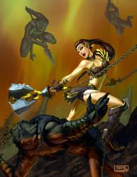 Warrior Woman5 by NoBackstreetboys