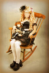 Porcelain Doll by faceless-monster
