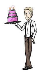 Birthday Sketch - Fredrich by hopelessparadox