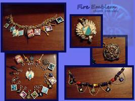 FE charm bracelets by EruwaedhielElleth