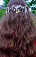 Bridal hairpiece - worn by EruwaedhielElleth