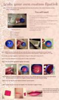 DIY custom lipstick tutorial by EruwaedhielElleth