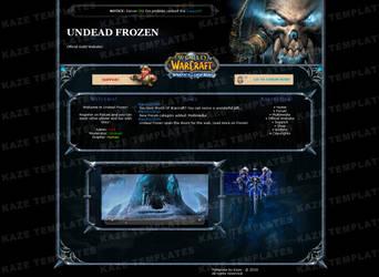 WoW - Undead Frozen Template by KazeAssassin