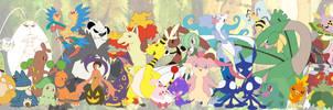 My Favorite Pokemon by eraport6