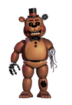 Withered Toy Freddy by Cashingaround