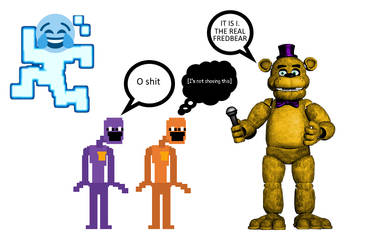 When Scott announced Fredbear for UCN by Cashingaround