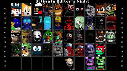 Ultimate Editor's Night (Rules Downbelow) by Cashingaround