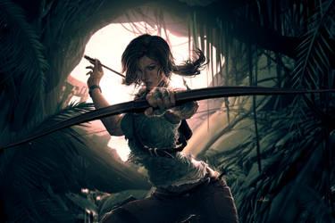 Lara BornToSurvive by Huue