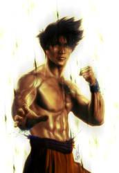 Goku by Huue