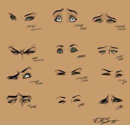 Eyes by Huue
