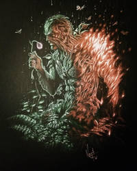 Swamp Thing by Keith-DF