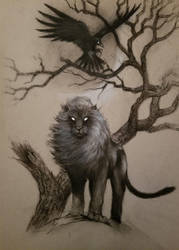 Black Lion by Keith-DF