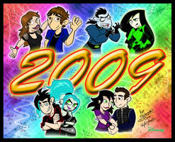 Welcome Year 2009 by Dinogaby