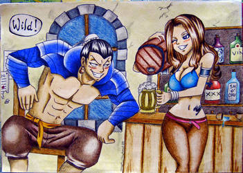 Bacchus X Cana by angelwithoutsoul89