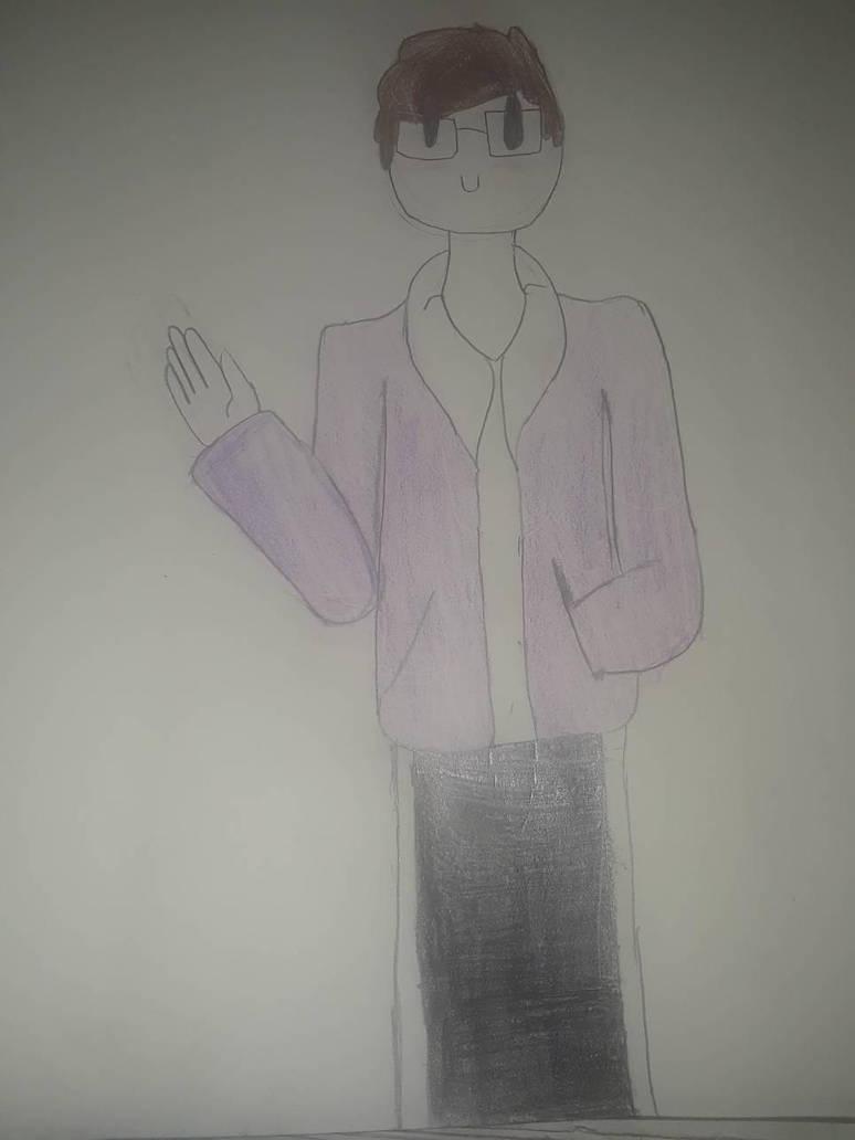 i drew myself in Jaiden Animation's artstyle by Goldnugget984