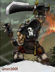 Ogryn wearing BLACK ORC gear by ramskeller