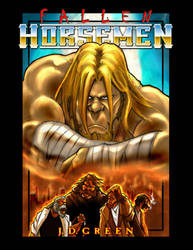 Fallen Horsemen Ashcan Cover B by ramskeller