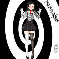 Commission Hypnotized Mimes Lois Lane by EneTheLigthingDancer