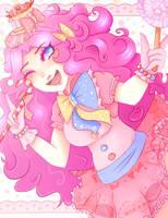 Pinkie Pie -Laughter- by Usagikari