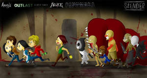 Horror Game Crossover by gtrs22