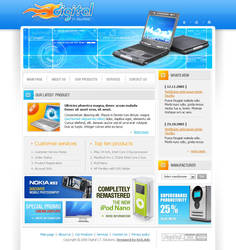 computer store company by rheyzer