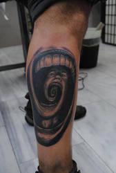Mind Devour Tattoo by Sebmaestro