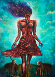 Crimson Queen (And the Servants) by Sebmaestro
