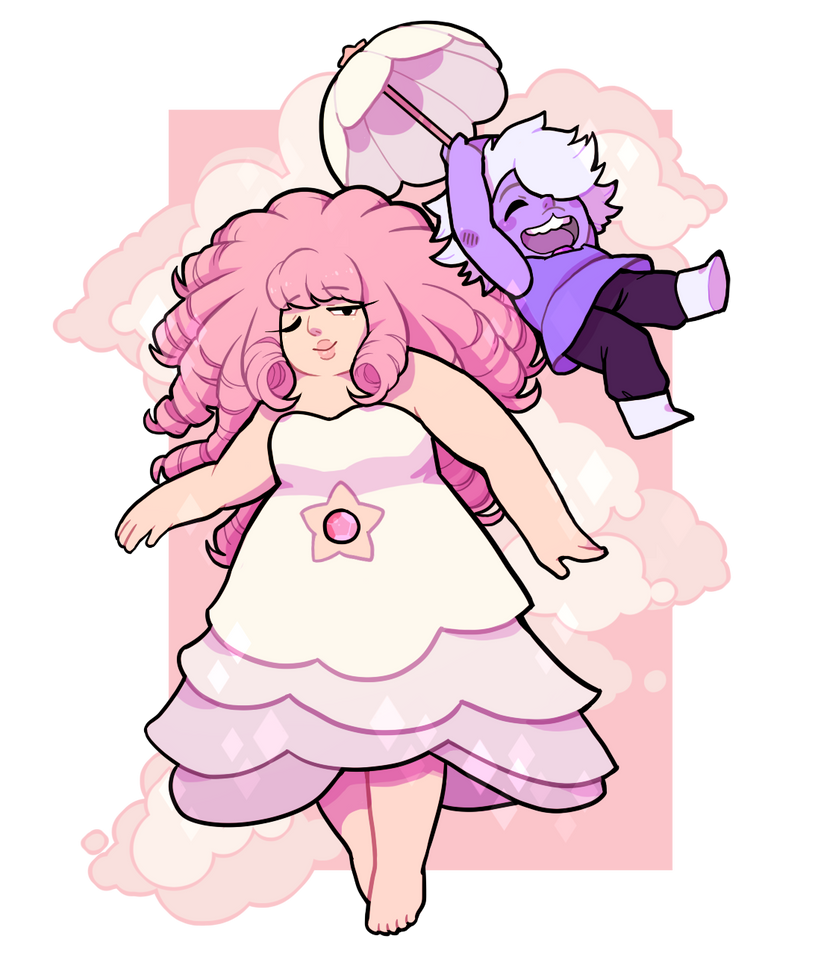 young amethyst was too... cinnamonroll