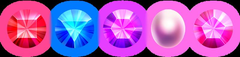 The Crystal Gems by Crowik