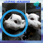 Completed Leopard Headbase by SamTheMoose101