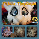 Calico Cat Headbase by SamTheMoose101
