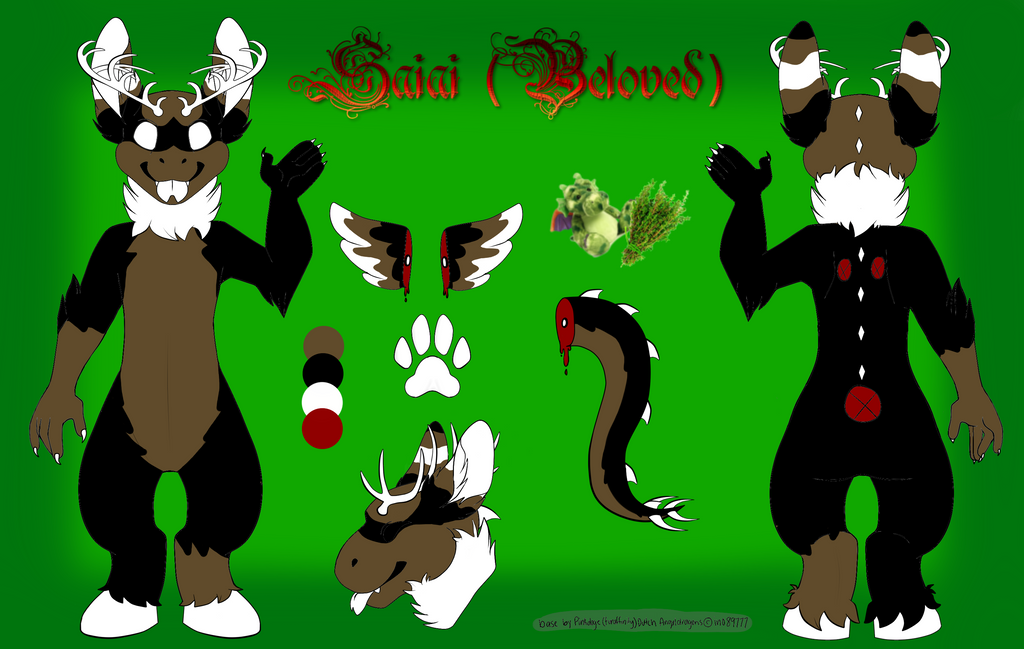 Saiai Reference Sheet by SamTheMoose101