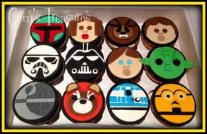 Star Wars Cupcakes by gertygetsgangster