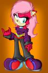 Sonia the Hedgehog by xXCatieKaramukixX