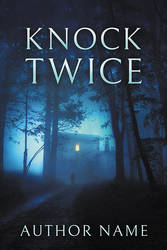 Knock Twice - premade book cover by LHarper