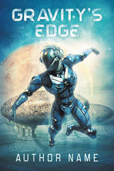 Gravity's Edge - premade book cover by LHarper