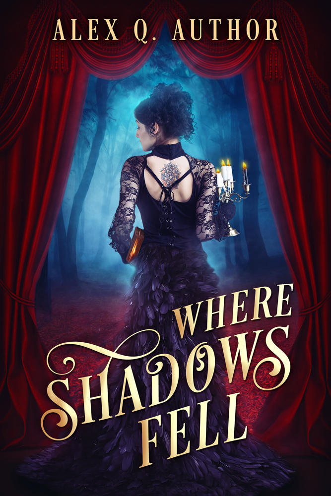 Where Shadows Fell - premade cover by LHarper